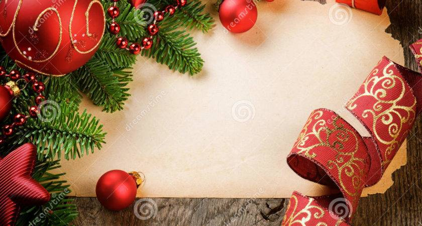 Frame Vintage Paper Christmas Decorations