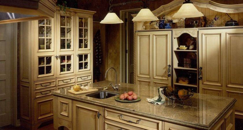 French Country Kitchen Countertops Kitchentoday