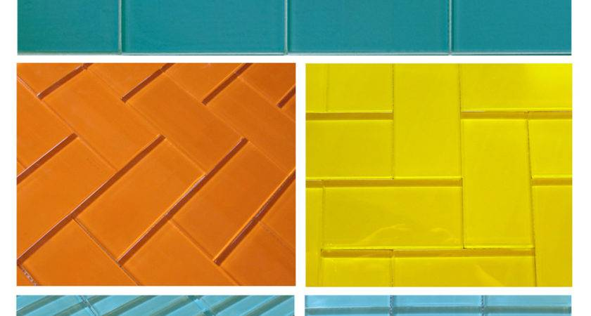 Fresh Colored Subway Tile Designs