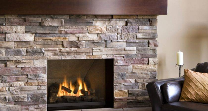 Fresh Stacked Stone Corner Electric Fireplace