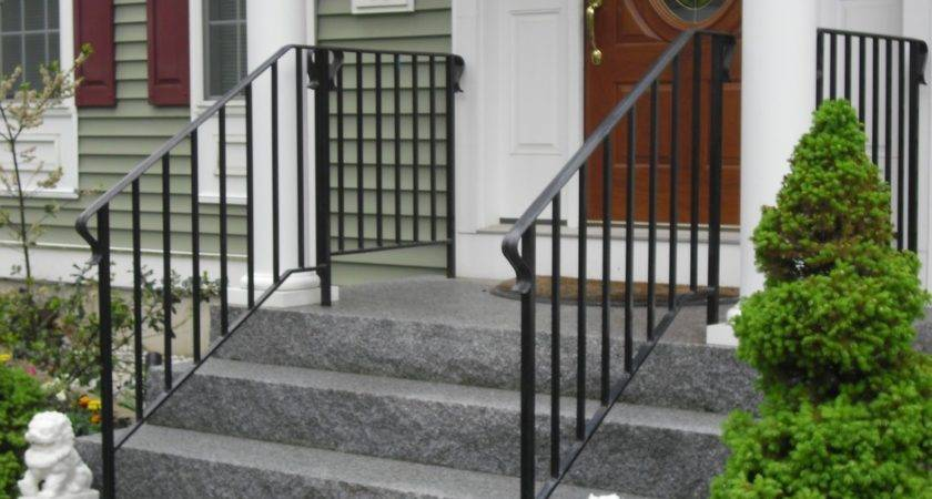 Front Porch Iron Railing