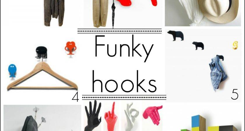 Funky Door Hooks Home Design