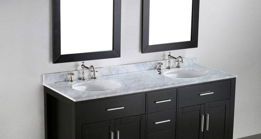 Furniture Adorna Inch Transitional Double Sink
