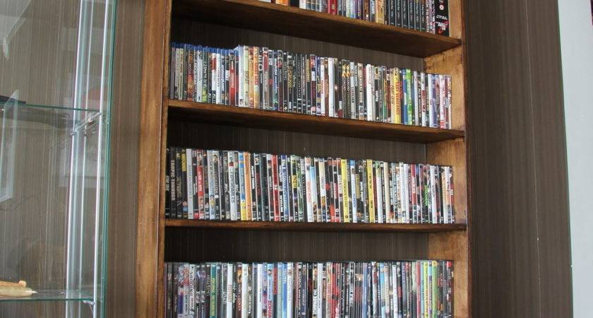 Furniture Cool Dvd Storage Ideas Holds Your Precious