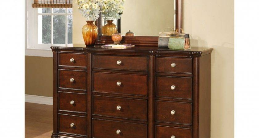 Furniture Endearing Small Dresser Mirror Bedroom
