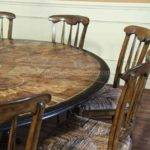 Furniture Round Dining Room Tables Seats
