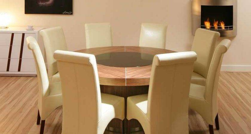 Furnitures Round Dining Table Dinner Tables