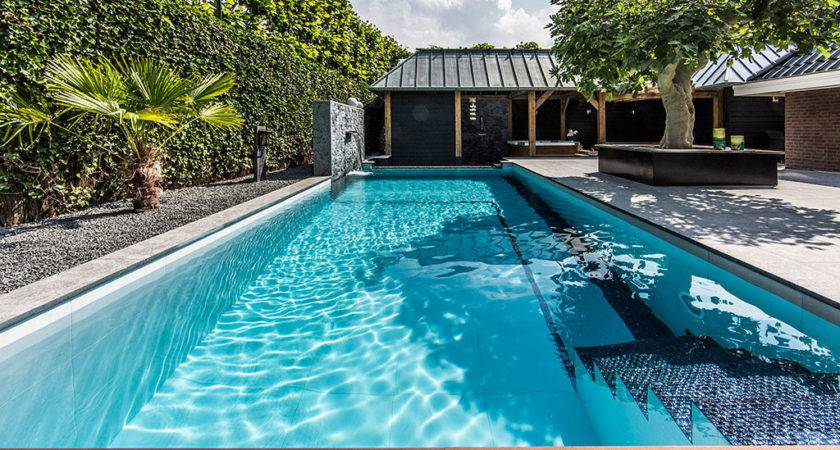 Garden Swimming Pool Design Native Home