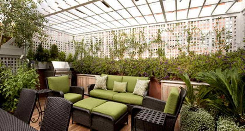 Gardening Landscaping Awesome Rooftop Garden Ideas