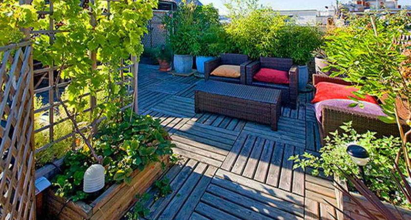 Gardening Landscaping Ideas Making Rooftop Garden