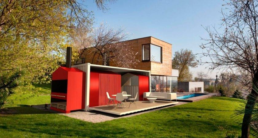 Glamorous Homes Built Shipping Containers