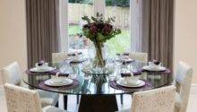 Glass Dining Room Tables Revamp Rectangle