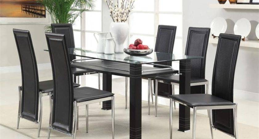 Glass Dining Table Chairs All Design