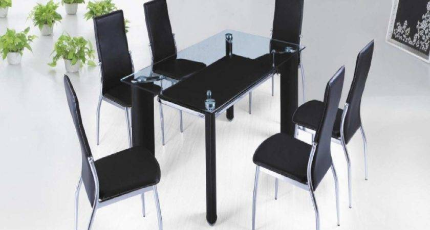 Glass Top Dining Table Designs India