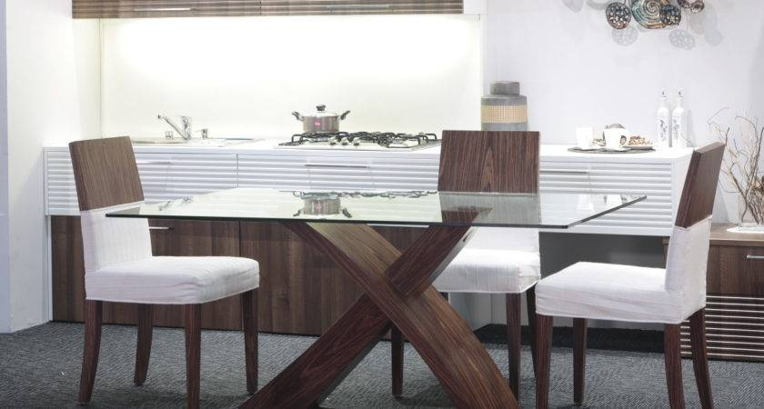 Glass Top Modern Dining Tables Trendy Homes Decozilla