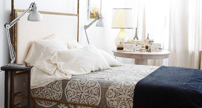 Gold Canopy Bed Eclectic Bedroom Sara Ruffin Costello