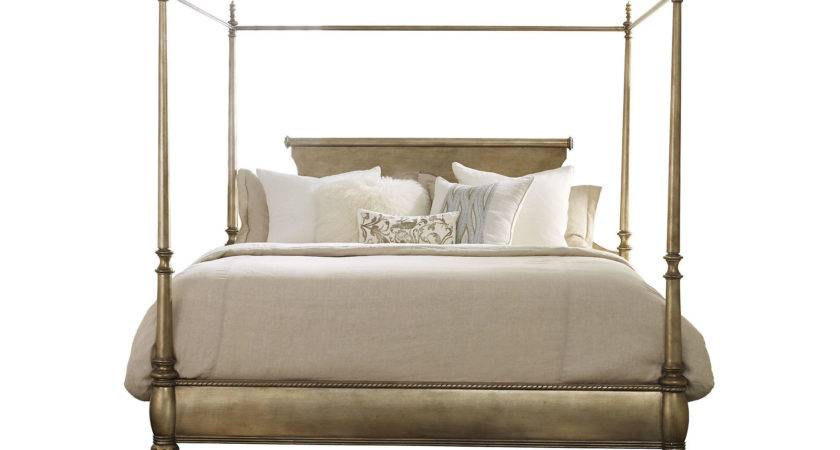 Gold Montage Canopy Bed King One Kings Lane