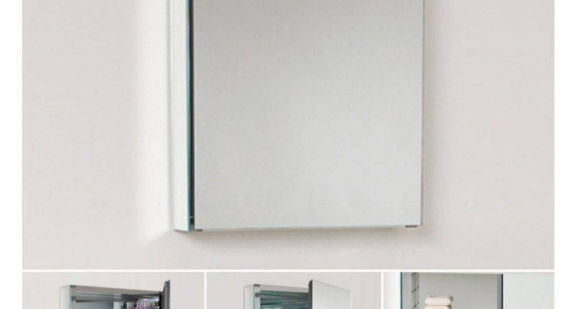 Good Recessed Medicine Cabinet Mirror Homesfeed