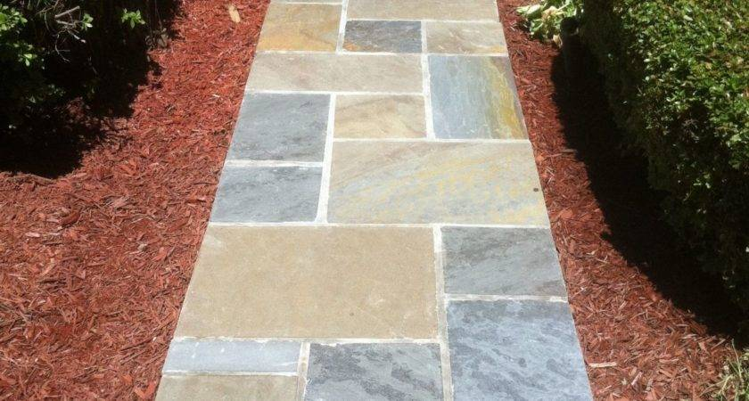 Gorgeous Stone Walkways Add Your Home