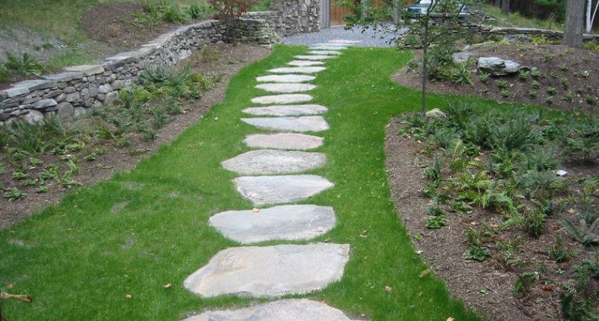 Gravel Walkway House Remodeling Decorating