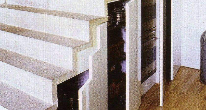 Great Under Stairs Storage Solutions Illustration