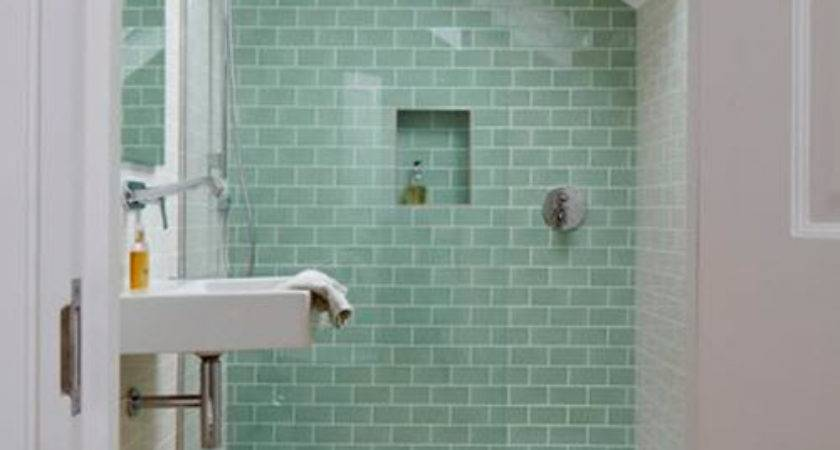 Green Bathroom Tile Ideas