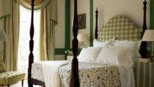 Green Bedroom Four Poster Bed Decorating Ideas