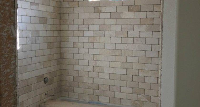 Grout Mistakes Installed Bathroom Tile Domestic