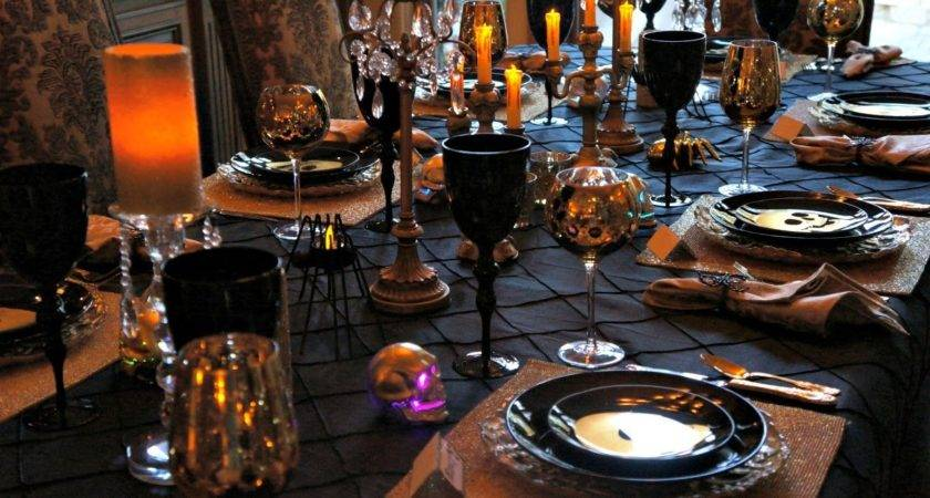 Halloween Party Ideas Dining Room Design Decor