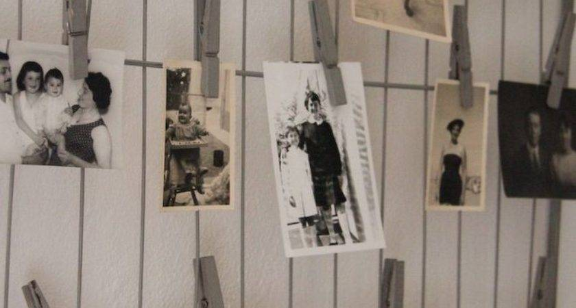 Hanging Photos Wire Eclectic Spaces Bulletin