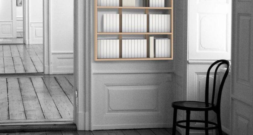 Hanging Wall Book Bookcase Malherbe Edition