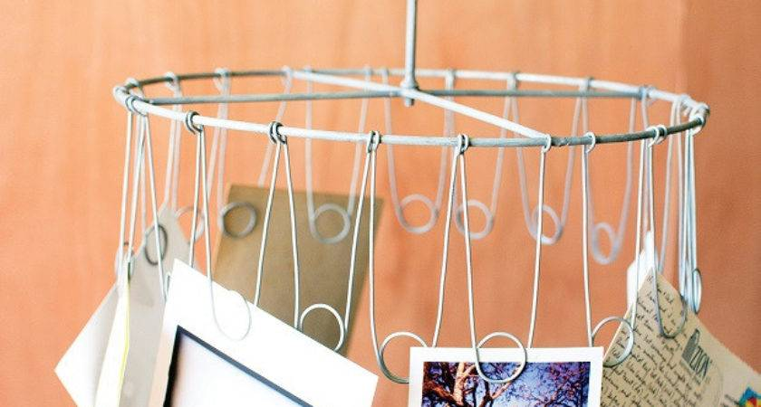 Hanging Wire Card Holder Display