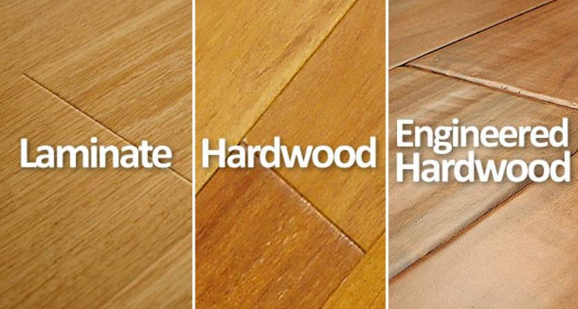 Hardwood Laminate Engineered Floors