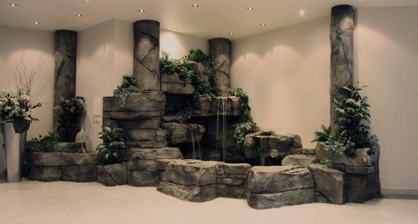 Here Visit Our Indoor Waterfalls
