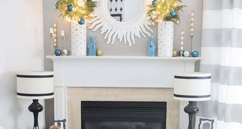 Hide Cables Fireplace Mantel Cuckoo Design