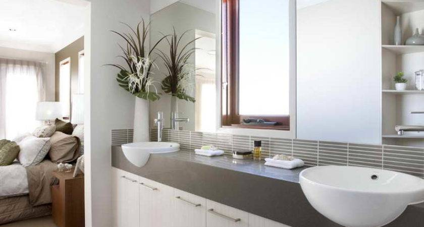 High End Bathrooms Two Sink Home Interior