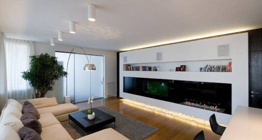 Highly Modern Apartment Design Russia Alexey