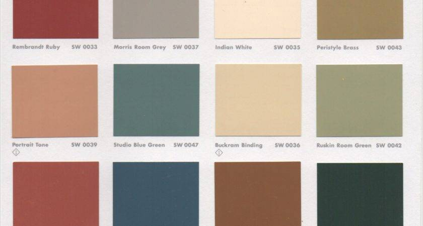 Historic Colors Interior Paint Pin