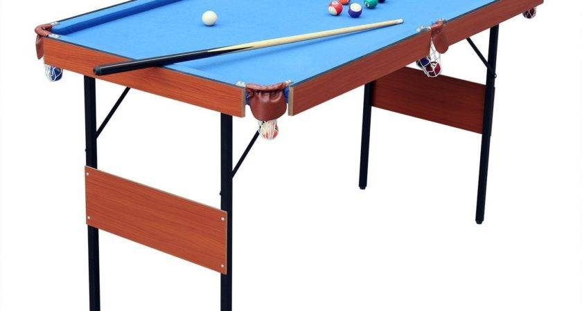 Hlc Folding Space Saver Pool Table Review Cuesup