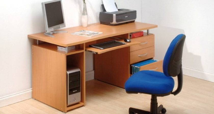 Home Computer Table Design Photograph Particle Board