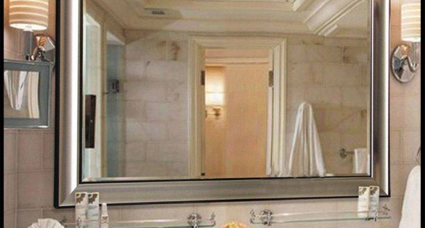 Home Decor Large Mirrored Bathroom Cabinet Bath