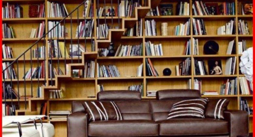 Home Library Design Designs Decorating