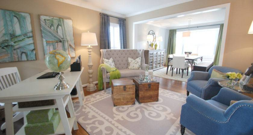 Home Office Formal Living Room Transitional