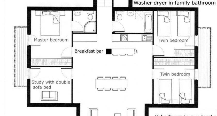 Home Plan Multi Apartment Floor Plans Unit