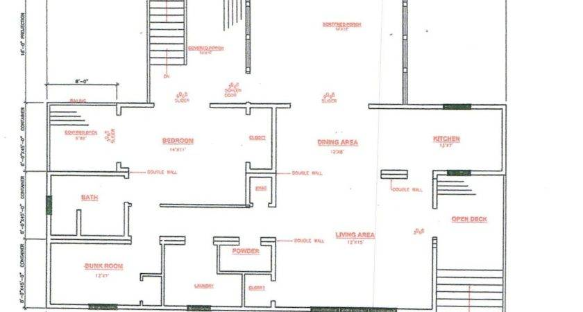 Home Plans Container House