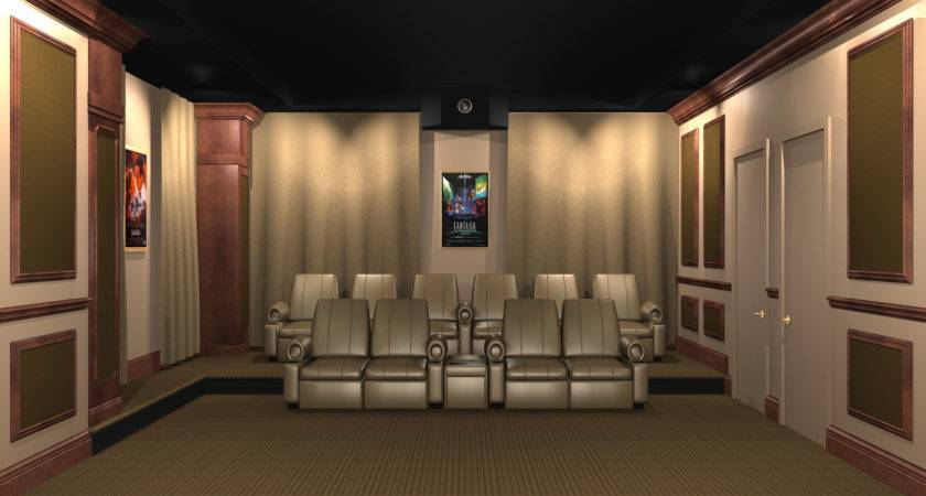 Home Theater Acoustic Wall Panels Panel