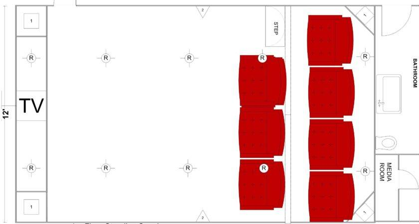 Home Theater Floor Plan Candresses Interiors Furniture Ideas