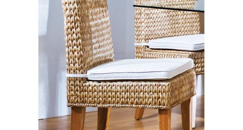 Hospitality Rattan Sea Breeze Indoor Seagrass Side Chair