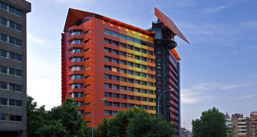 Hotel Silken Puerta America Madrid Spain Copyright