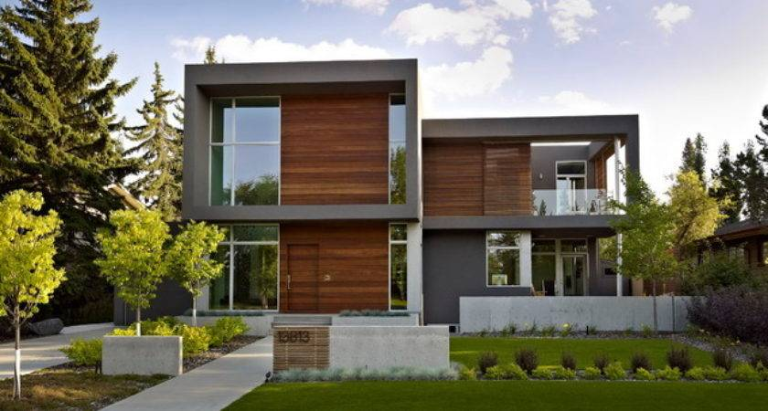 House Contemporary Rendering Edmonton